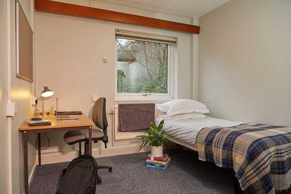 Beechcroft Bedroom - Bedroom at Beechcroft, Norwich University of the Arts halls of residence