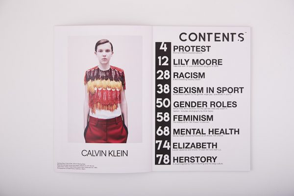 The Equality Issue - Year 1 BA (Hons) Fashion Communication and Promotion students