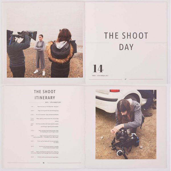 The Shoot Day  -