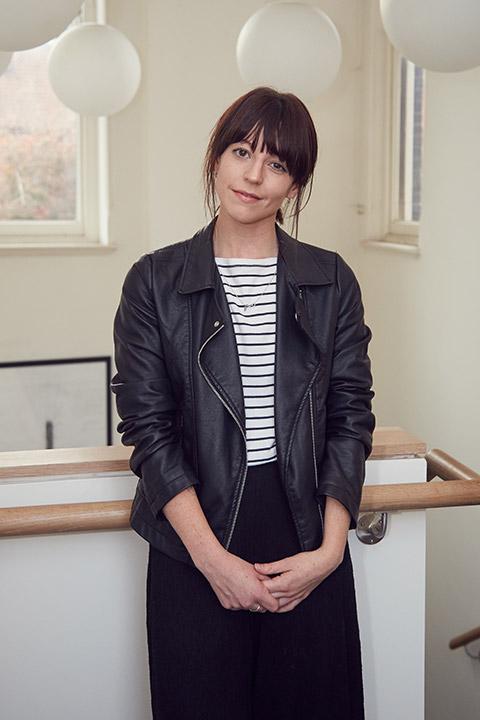 Staff portrait photo of Kat Easthope