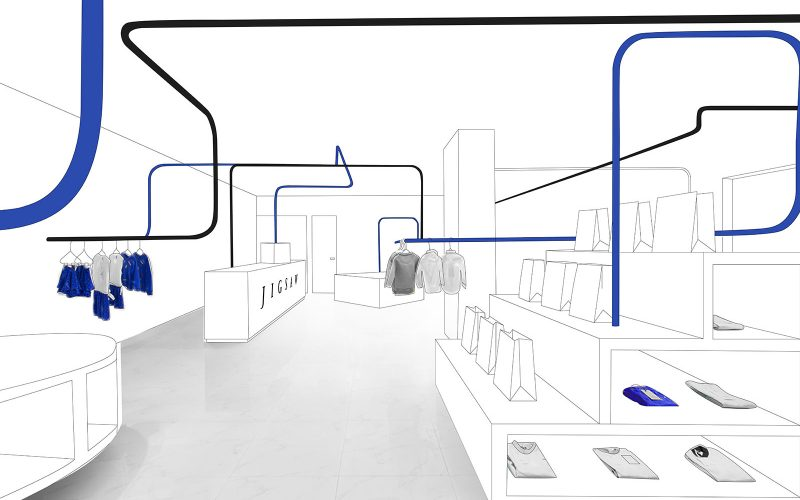 Image of a designed shop