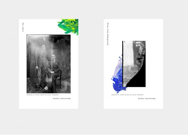 Natalie Sowa - Image of two publications featuring black and white images of