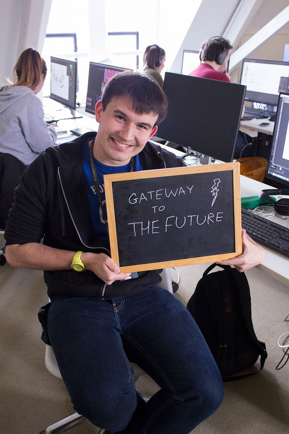 What does NUA mean to you? - Dominic, BA (Hons) Animation