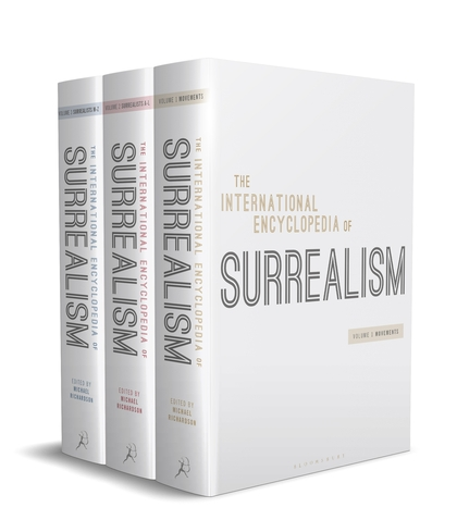 International Encyclopaedia of Surrealism - Book cover of International Encyclopaedia of Surrealism