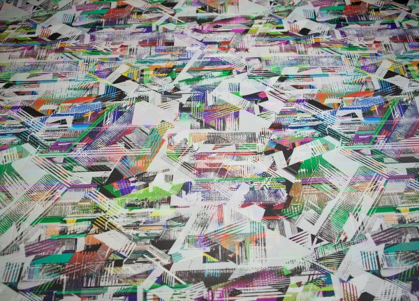 Georgina Ridgely - Image of digital printed fabric