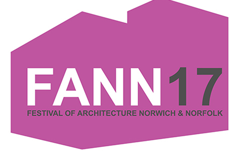 Logo for FANN17 shows purple building outline with title in large font in centre
