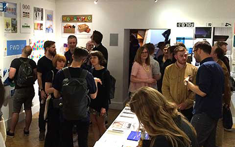 Graphic design students showcase work in London exhibition - Norwich