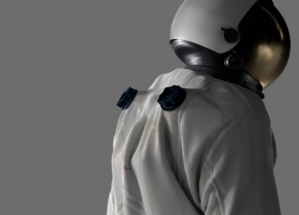 Nathan Reynolds - Image of an Astronaut in a space suit