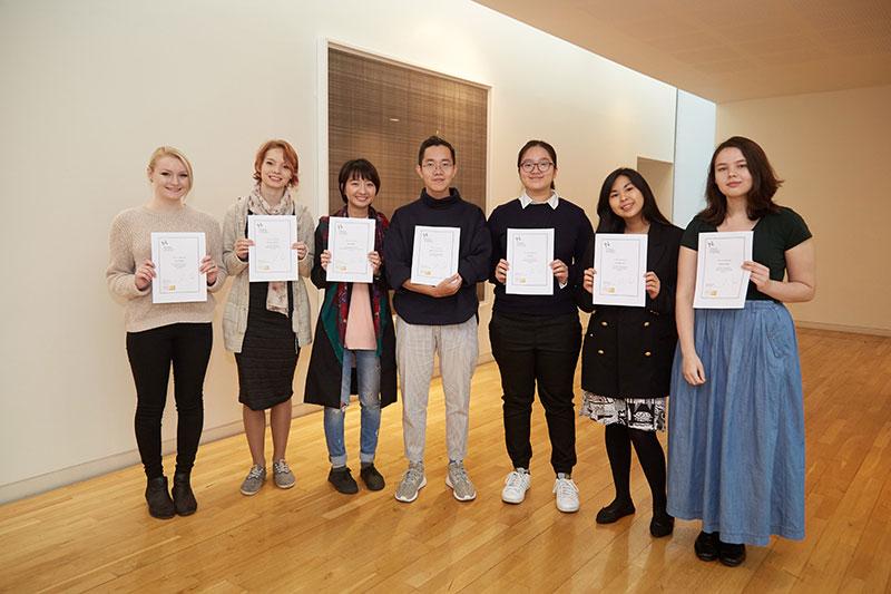 International Scholarship winners