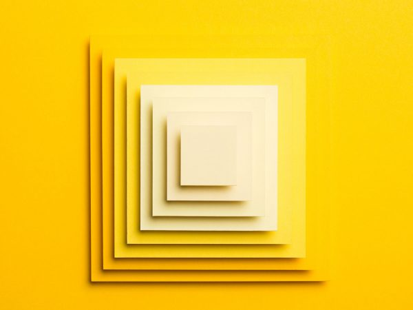 Jonathan Charlton - Image of yellow squares on a yellow background
