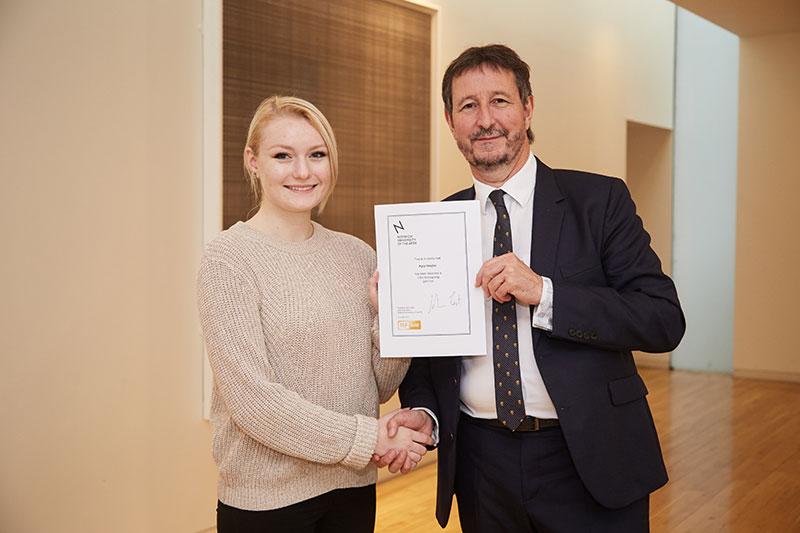 International scholarship winner Kyra Vergho