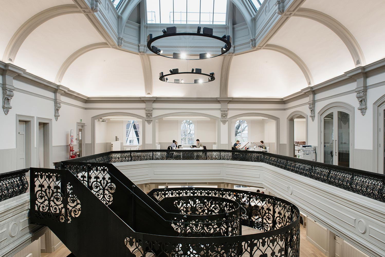 Boardman House atrium