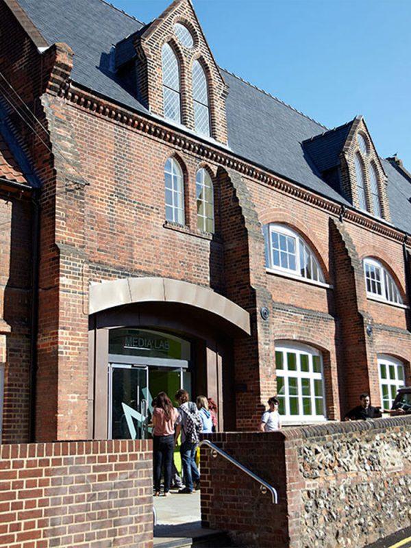 Campus Facilities   Norwich University of the Arts (NUA)