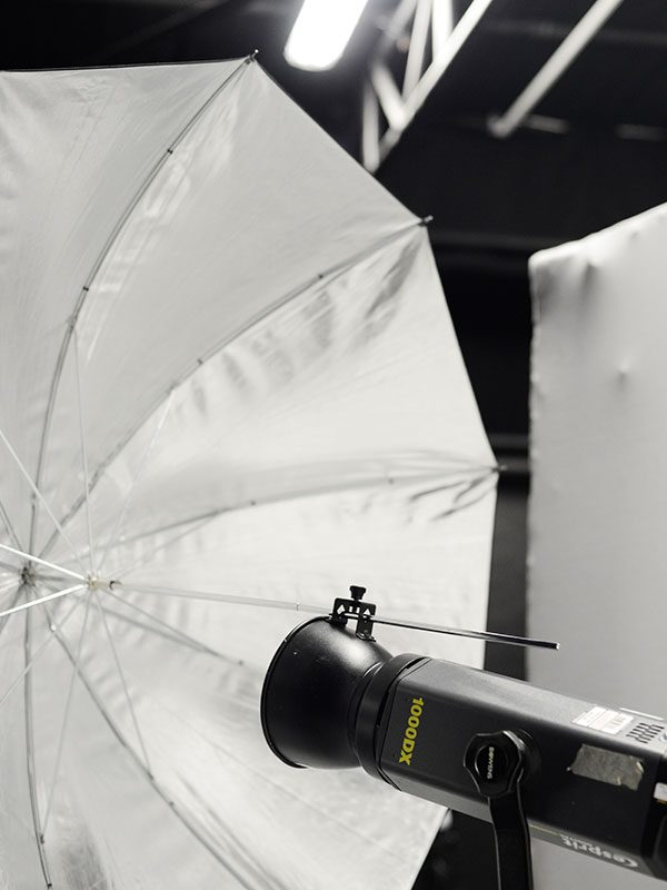 - Image of lighting kit in the photography studio