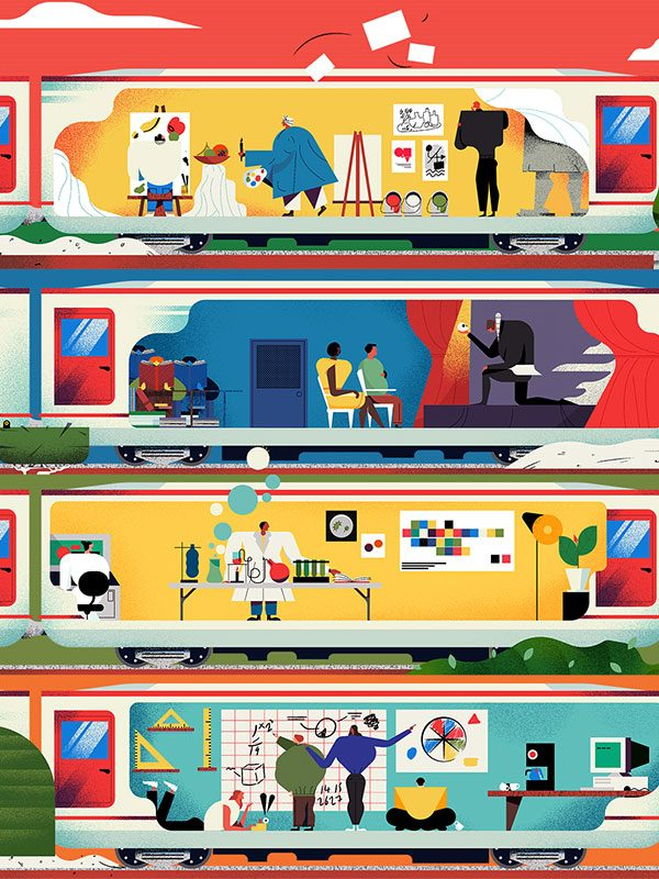 Illustration for The Good University Guide -