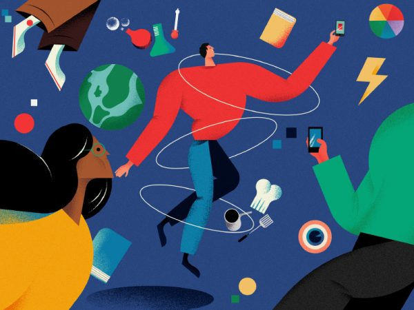 Illustration for Les Echoes Magazine Weekend -