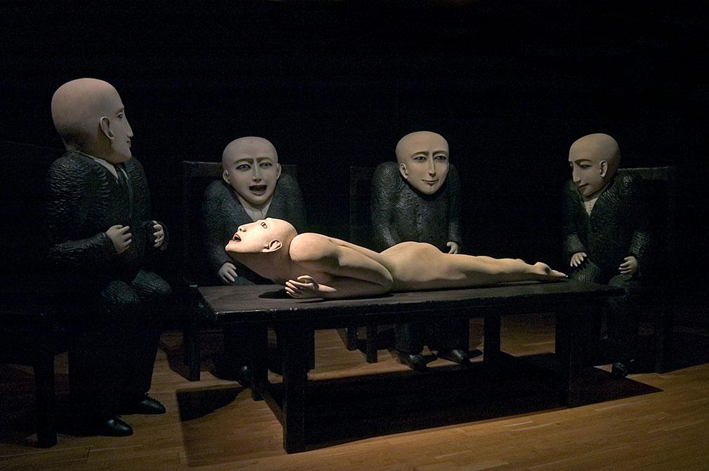 Ana Maria Pacheco sculpture