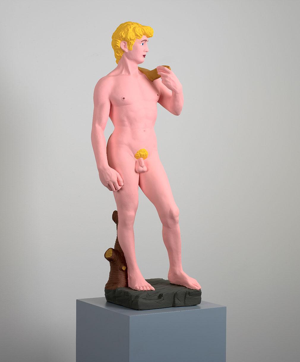 Hans Peter Feldmann Statue