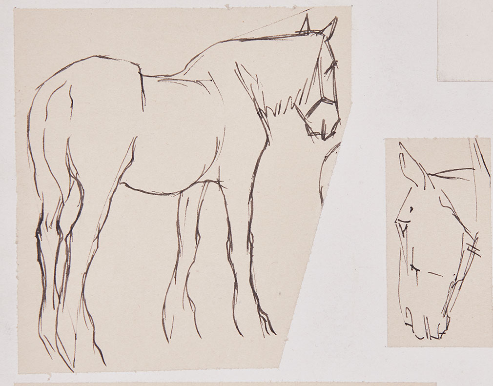 Munnings Horse Drawings