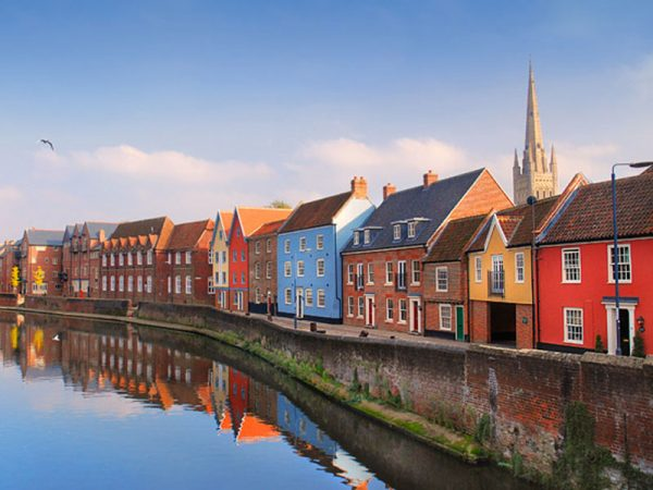 Norwich's Riverside - Image featuring Norwich Quay side and riverside