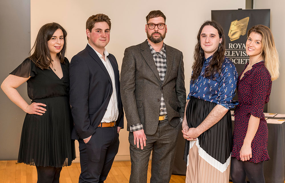 BA Film and Moving Image Production graduates