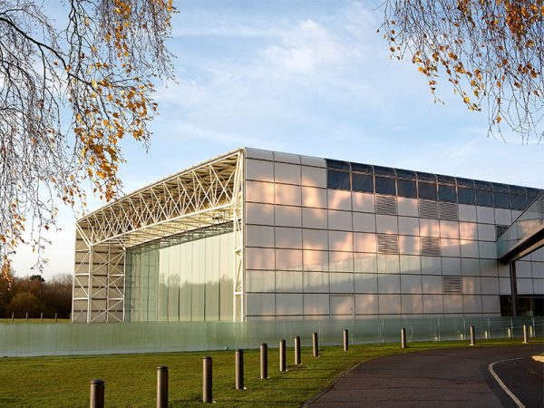 Sainsbury Centre for Visual Arts - Image of a contemporary designed building featuring glass windows