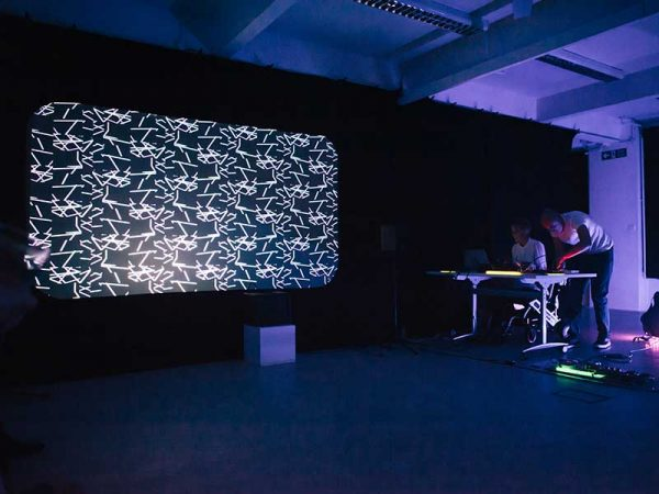 Ranieri Spina and Marian Saunders, MA Moving Image and Sound -
