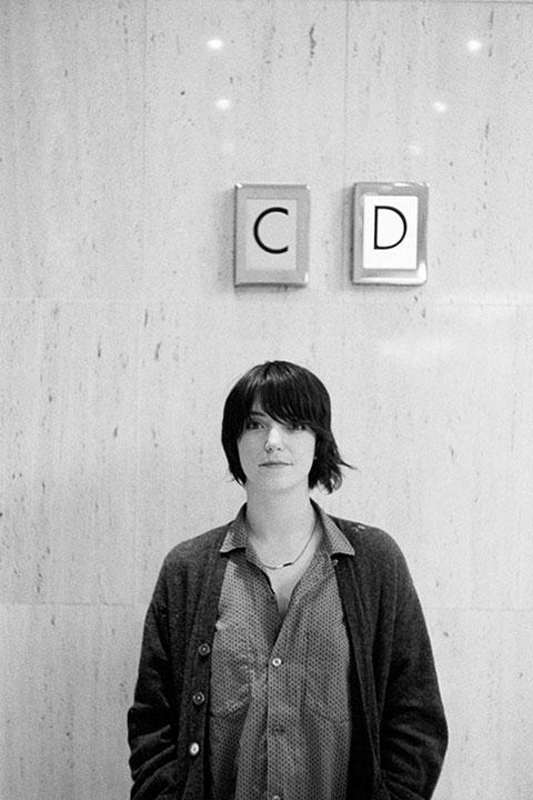 Sharon Van Etten photographed for Crack Magazine -