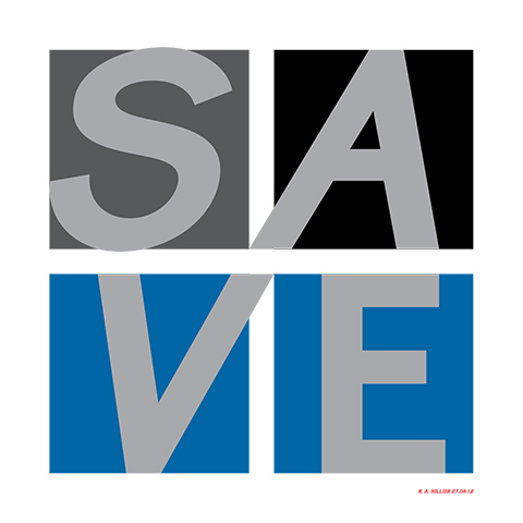 The Verb to Save in Sylexiad Sans Medium -