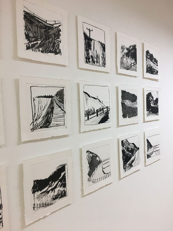 - Drawings in the Illustration Degree Show 2018 at Norwich University of the Arts