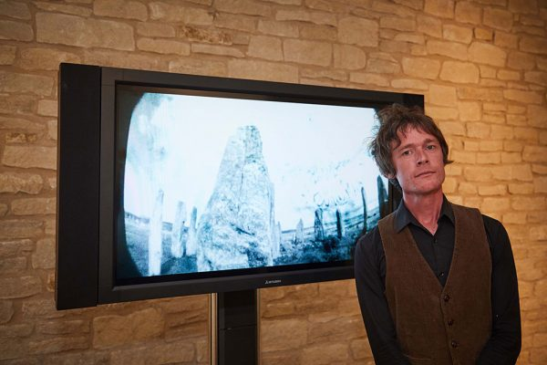 Julian Hand, MA Moving Image and Sound - MA Moving Image and Sound student Julian Hand by his work, a winning film in the Bishop's Art Prize