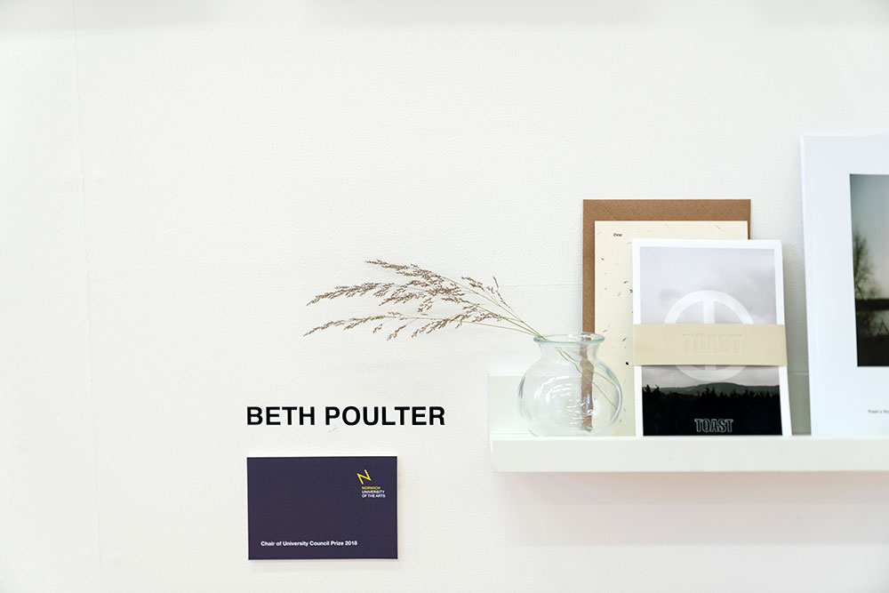 Beth Poulter work in the Degree Shows