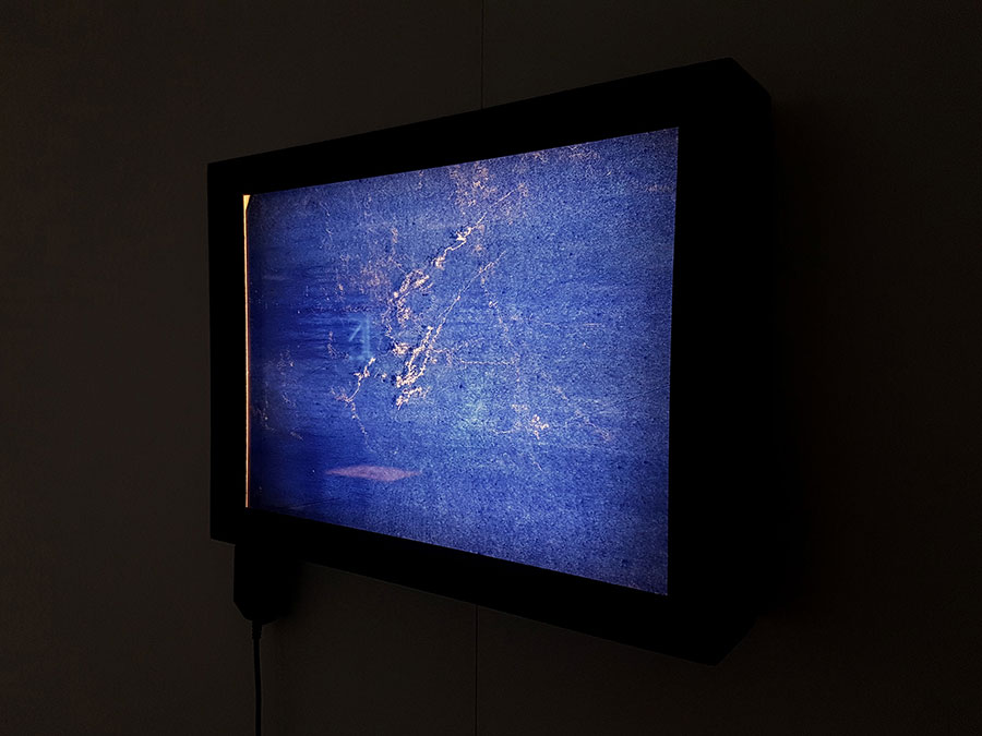 Screen by Laure Van Minden in the MA Degree Show at Norwich University of the Arts