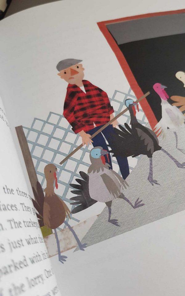 Brandon Mattless, The Turkeys who had a happy Christmas - Brandon Mattless