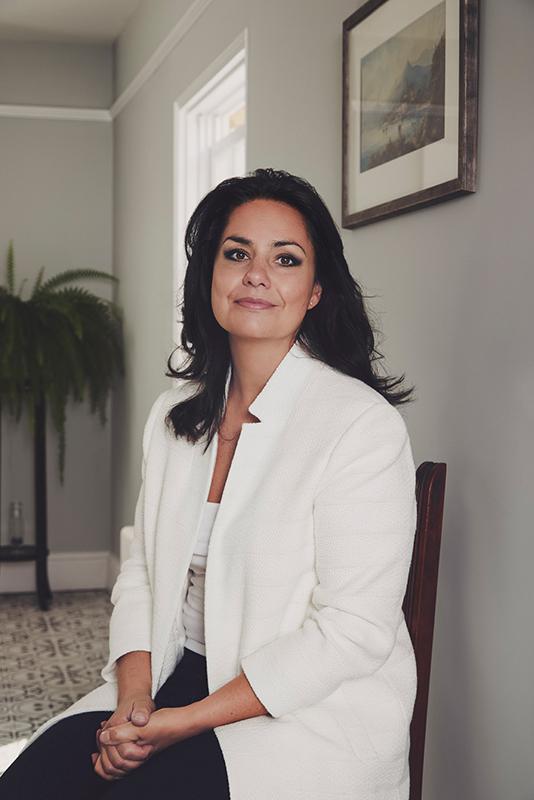 Portrait photograph of MP Heidi Allen by Denisa Ilie, BA Photography -
