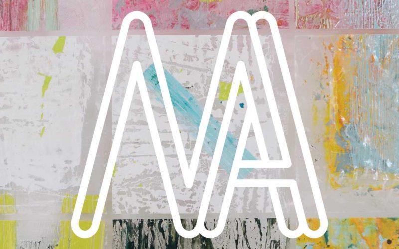 MA logo across MA Textile Design student work