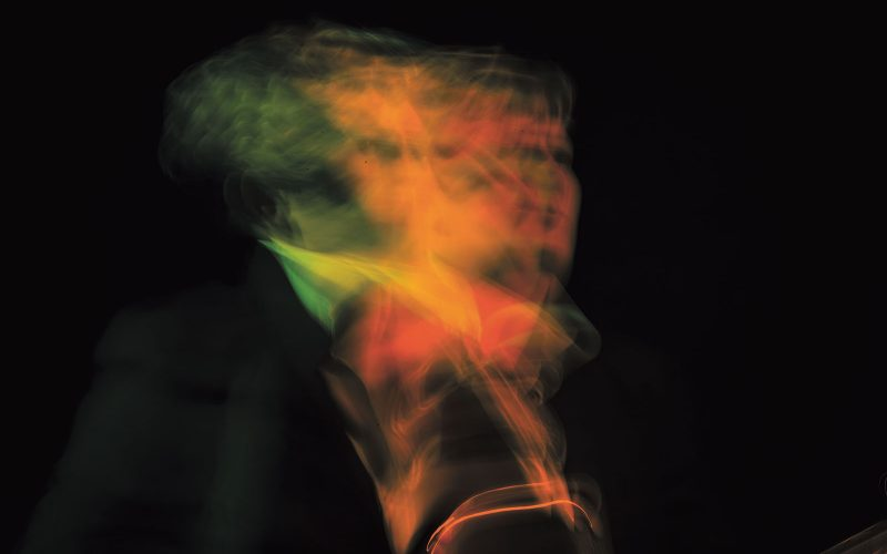 BA Photography work of colourful blur by Norwich University of the Arts graduate Alex Gill