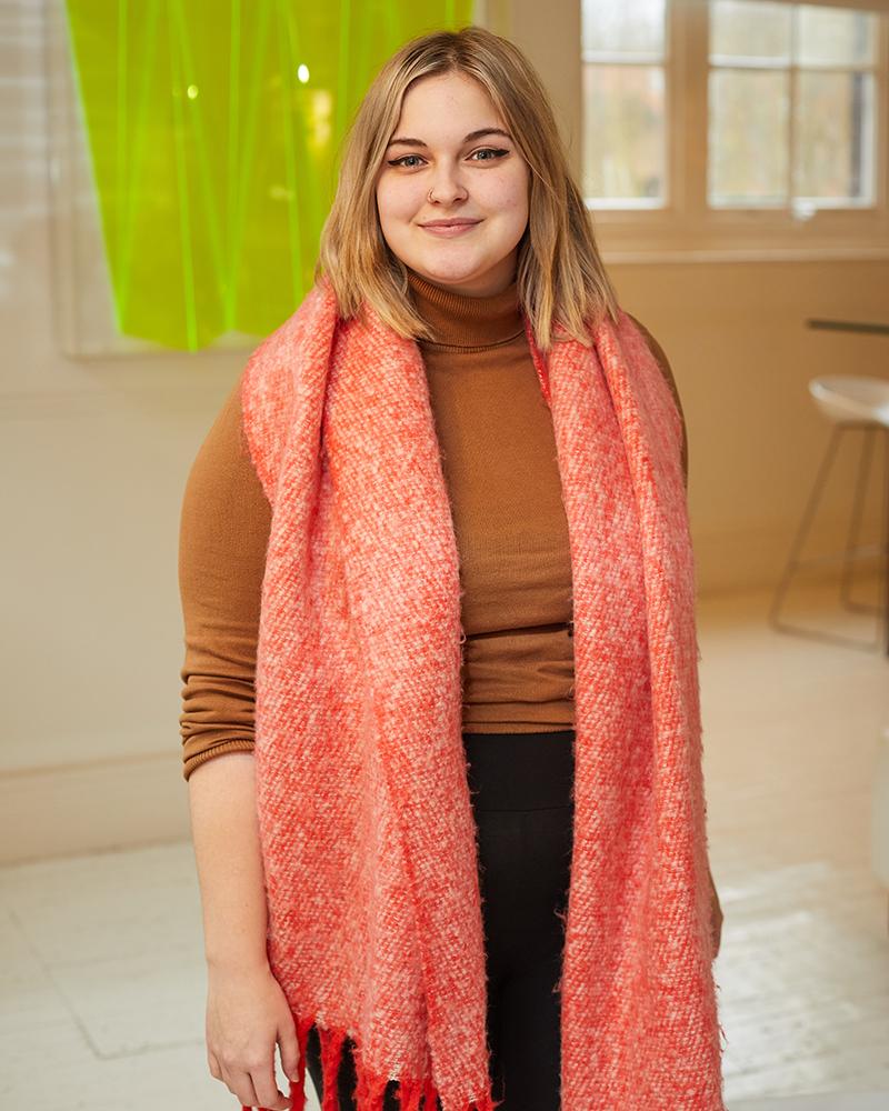 Portrait photo of Animation graduate Daisy Morgan