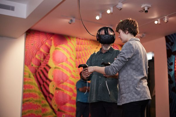 Mutator VR, East GalleryNUA exhibition -