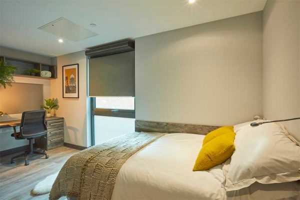 Crown Place bedroom -