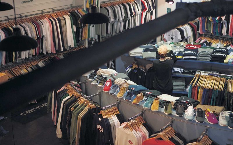 Clothes and fashion in Dogfish, Norwich