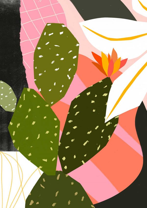 - Cactus in Kew Gardens illustrated by Norwich University of the Arts graduate Tom Abbiss Smith