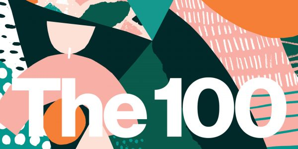 Pinterest header - The 100 Pinterest design of a header by Tom Abbiss Smith, BA Illustration graduate at Norwich University of the Arts
