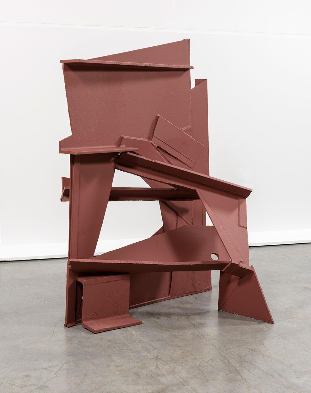 Anthony Caro sculpture - Straight On