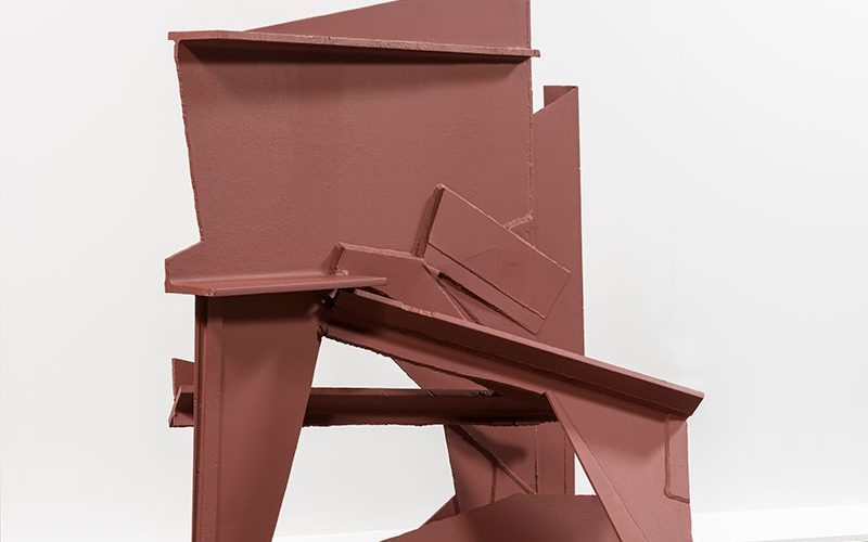 Anthony Caro sculpture - Straight On
