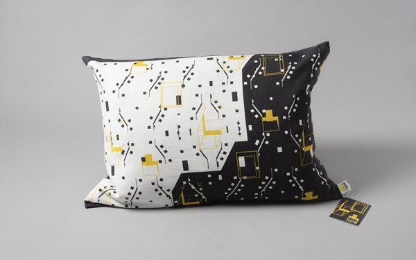 Living Area Cushion, by Amy Harman -