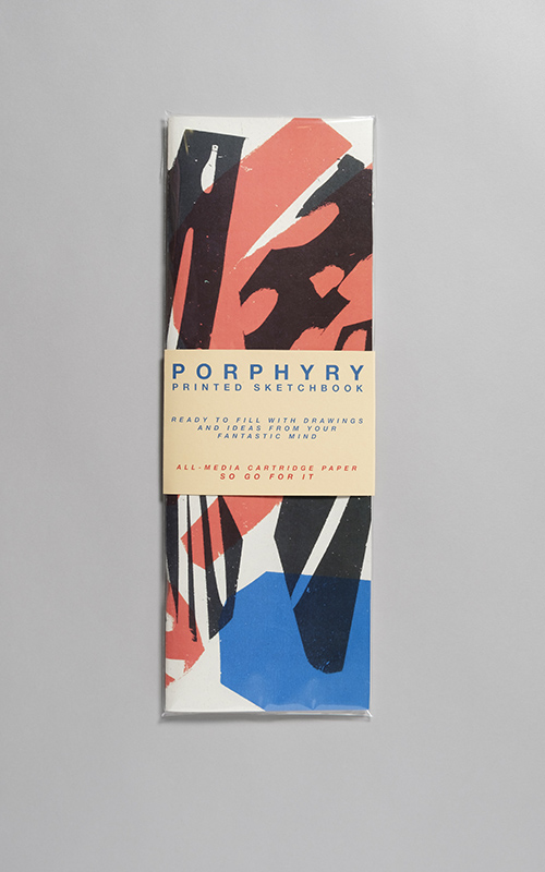 Tall Porphyry Sketchbook, by Lottie Hall -