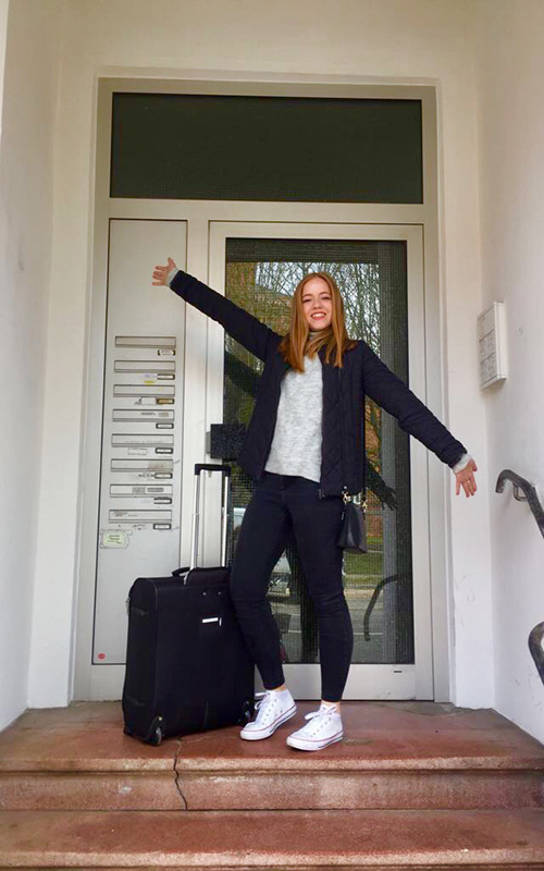 BA Graphic Communication student Sophia Brandt on her Erasmus exchange -