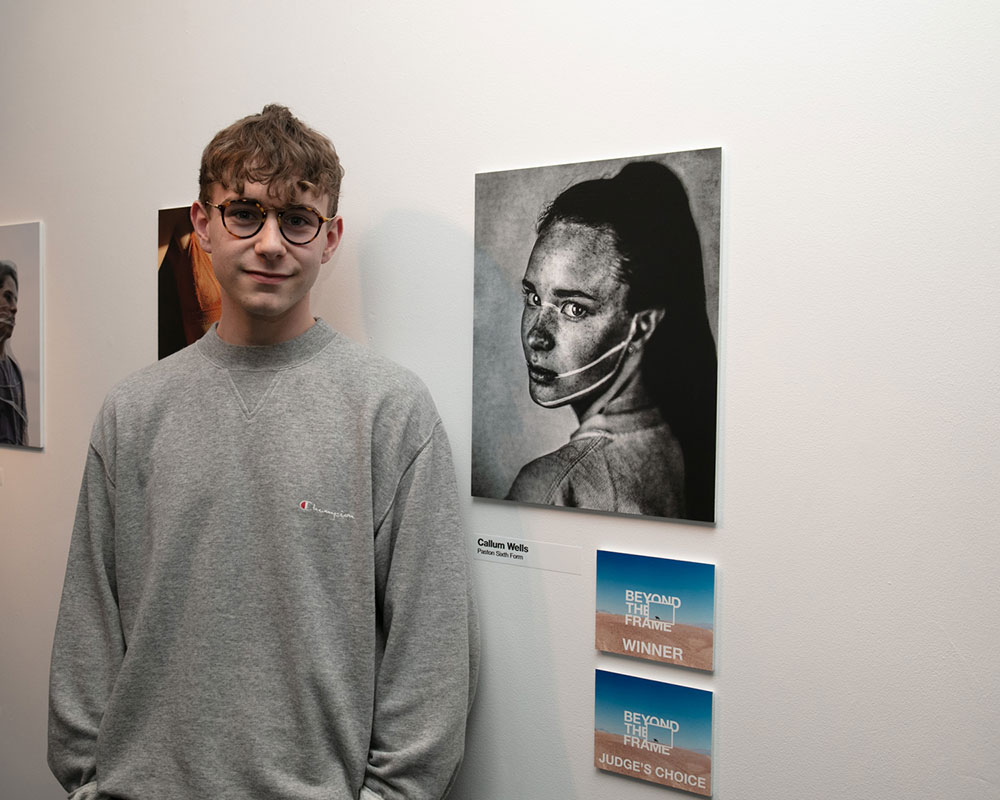 Callum Wells - winner of Beyond the Frame 2019
