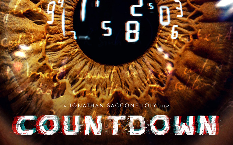 Countdown poster by Jonathan Saccone Joly